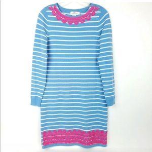 NWT Vineyard Vines Appliqué Sweater Dress